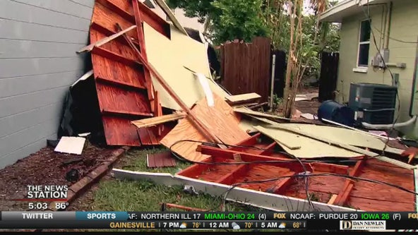 Tornado causes damage in Pinellas County