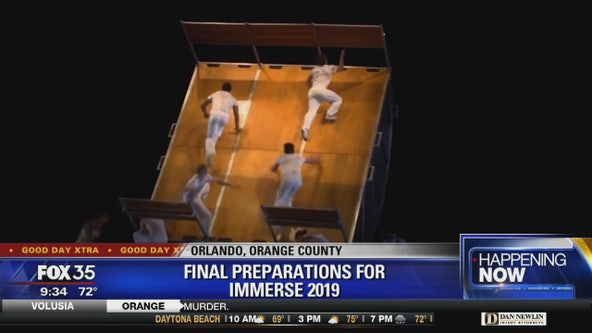 Immerse 2019 begins Friday