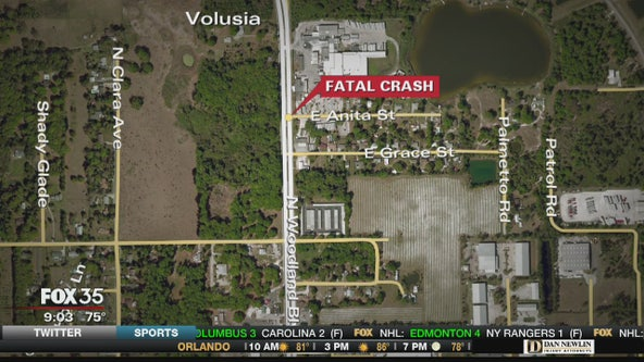 79-year-old man dies trying to cross a DeLand street