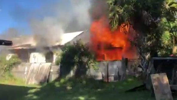 Fire breaks out at home in Mims