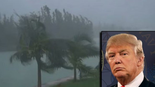 President Trump OKs disaster declaration for Florida in wake of Dorian
