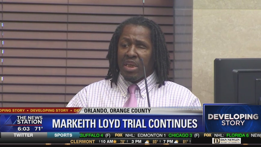 Trial of accused double murderer Markeith Loyd continues Tuesday