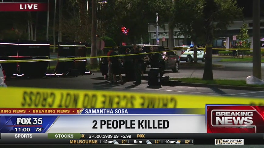 2 found dead in Osceola County shopping center parking lot
