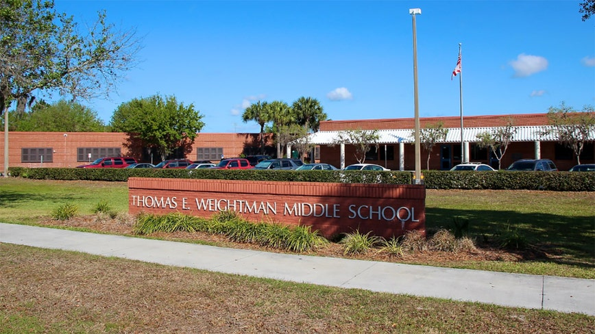 Deputy fired for gun discharge in Florida school cafeteria