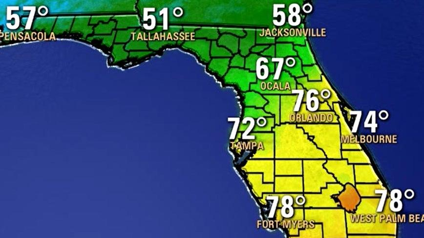 Beautiful! Cooler temperatures arrive in Central Florida
