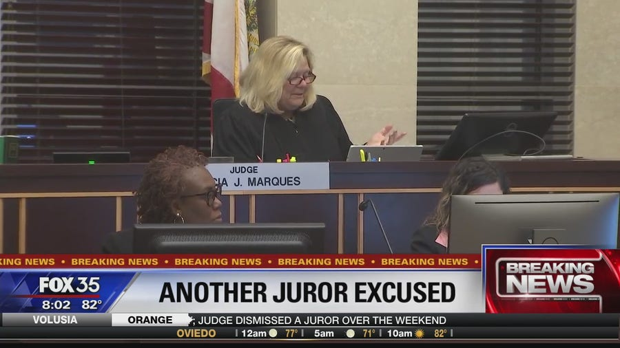 Second juror excused in Markeith Loyd murder trial