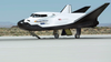 Sierra Nevada shows off space cargo capsule that rides on shuttle-inspired vehicle