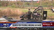 Search underway for possible missing kayaker