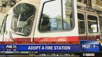 Adopt a fire station for the holidays