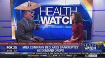 Milk company declares bankruptcy as demand drops