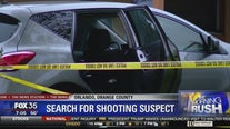 Search for shooting suspect in Orlando