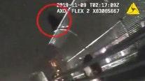 Deputies help save man looking to jump off bridge, video shows