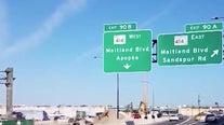 Traffic shift at Maitland ramp creates backups along Interstate 4