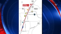 Limited lanes on WB I-4 in Seminole County overnight