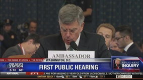 Trump impeachment inquiry hearings begi