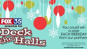 Deck the Halls Prize Calendar