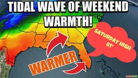 Rising temps to greet Central Floridians this weekend!