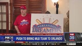 Push to bring MLB team to Orlando announced