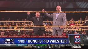 Wrestler honored for heroic response during Ohio mass shooting