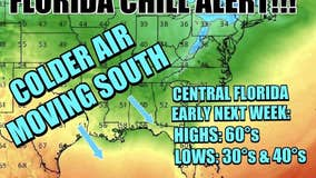 Next round of chilly Florida weather reloads next week!