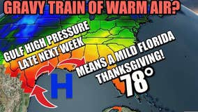 Thanksgiving Day weather looks delicious!