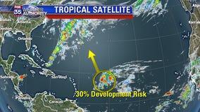 Disturbance in the Atlantic