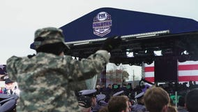 FOX Sports honors military members with special community event