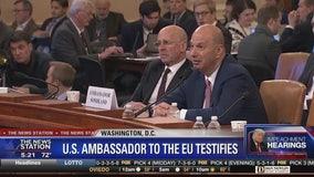 Ambassador says Giuliani was pushing quid pro quo with Ukraine