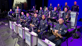 USAF Airmen Of Note play free concert at Disney Springs
