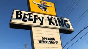 Orlando's beloved Beefy King restaurant back open after fire