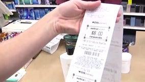 CVS receipt shopping