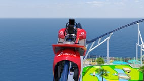 Carnival reveals details on first roller coaster at sea