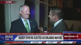 Buddy Dyer reelected as Orlando mayor