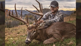 West Virginia hunter takes down 17-point buck after tracking it for 6 years