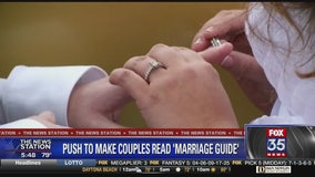 Bill would require couples to read 'healthy marriage' guide