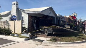 Driver who crashed into Fort Meade legislator's office was high, deputies say