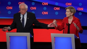 2020 Democratic presidential hopefuls Elizabeth Warren, Bernie Sanders battle for the liberal vote