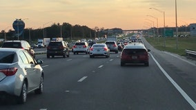 I-4 lane closures suspended for Thanksgiving