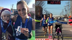 Guinness Book of World Records half-marathon time bested by mom -- and her 10-month-old daughter