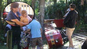 1 injured after miniature train derails at Central Florida Zoo