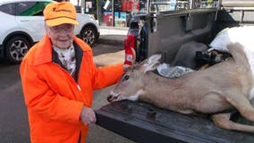 Woman, 104, bags buck during first hunt