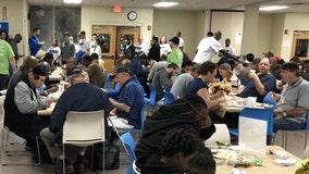 Orlando Magic serves hundreds of Thanksgiving meals to the homeless