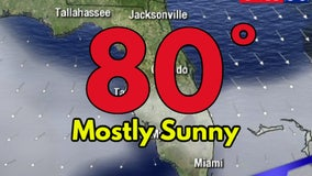 Sunny, warm, dry Thanksgiving in Central Florida