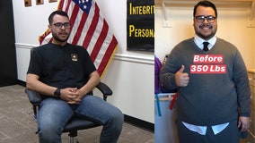 Man loses nearly 200 pounds to join Army