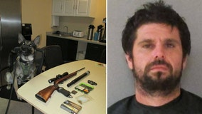 Sheriff's Office: Florida K-9's first arrest nabs convicted sex offender with weapons, drugs