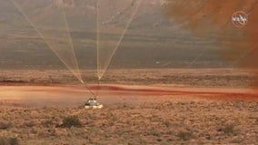 Boeing capsule abort test successful, despite third parachute gaffe
