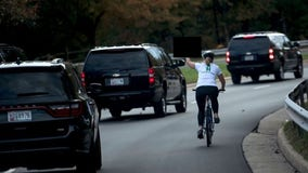 Virginia woman who gave the finger to President Trump's motorcade wins election