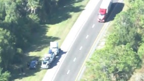 Fatal crash shuts down southbound lanes of Florida Turnpike in Osceola County