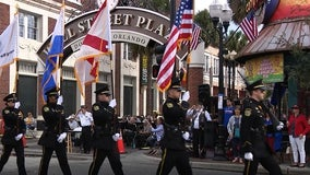 Central Florida honors veterans during 20th annual Veteran's Day parade