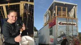 Polk teen spends 7 days camping on top of semi, raises $10K for charity